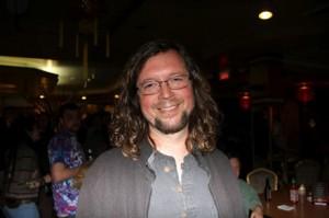John Kadlecik of Furthur Checks Out Deadbeat After Furthur Show at the Wang!