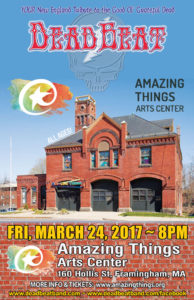 Friday, March 24, 2017 – Amazing Things Arts Center – Framingham, MA
