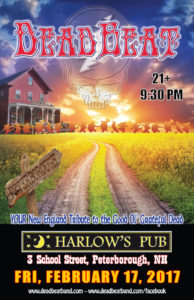 Friday, February 17, 2017 – Harlow's Pub – Peterborough, NH