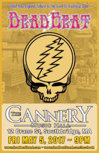 Friday May 5, 2017 – The Cannery Music Hall – Southbridge, MA