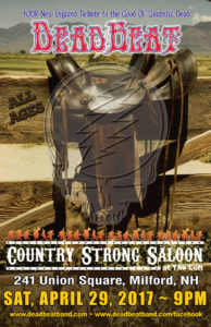 Saturday April 29, 2017 – Country Strong Saloon – Milford, NH –  ALL AGES!
