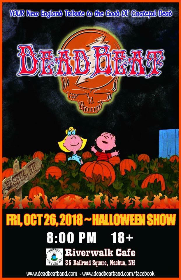 Halloween Celebrated Nashua Nh 2020 Friday October 26, 2018 – Riverwalk Cafe – Nashua, NH  18+