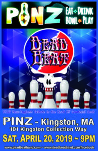 Saturday April 20, 2019 – 4/20 CELEBRATION at PINZ – Kingston, MA