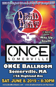 Saturday June 8, 2019 – Once Ballroom Somerville, MA  – 18+ Show!