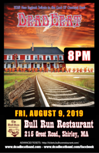 Friday August 9, 2019 at Bull Run – Shirley, MA