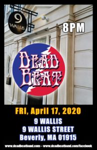Friday April 17, 2020 – 9 Wallis – Beverly, MA – ALL AGES!