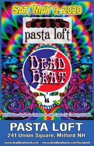 Saturday May 9, 2020 – The Pasta Loft – Milford, NH